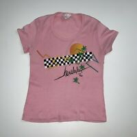 Vintage 80s Hawaii T-Shirt Size Women's XS/S Pink