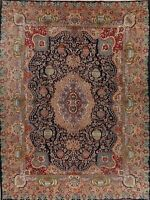 Excellent Dynasty Historical Kashmar Area Rug Hand-Knotted Oriental Carpet 10x13