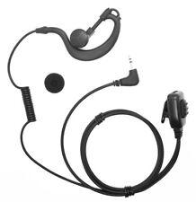 Cobra Radio 1pin 2.5mm Jack G shape soft Ear Hook Earpiece with HQ PTT Microphon