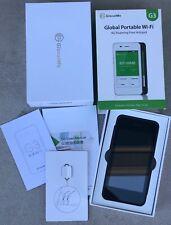 GlocalMe G3 Global Portable Wi-Fi - 4G Roaming Free Hotspot Travel OPEN BOX