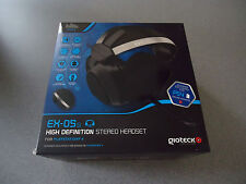 Gioteck EX-05s High Definition Stereo Headset for the PS4  NEW   HD