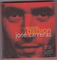 JOSE CARRERAS COMPLETE PASSION 2CD BOX SET PASSION & PURE PASSION NEW/SEALED