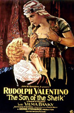 The Son of the Sheik Rudolph Valentino 4 Vintage Lobby Poster Movie Decor Art