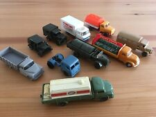 Vintage 1960s HO Scale Trucks With Wiking Models For Your Train Layout