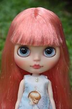 Custom Factory Blythe - Pink hair with fringe / bangs