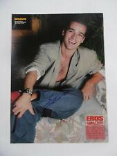 Eros Ramazotti Autogramm signed A4 Magazinbild