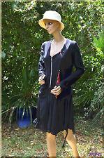 Robe noire FORLA PARIS grande  taille XL ref  081702