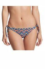 NEW ViX Swimwear 'Folk Long' Side-Tie Bikini Bottoms S Small