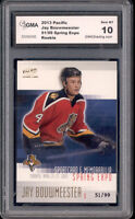 2003 Jay Bouwmeester Pacific Spring Expo Rookie  Gem Mint 10 #ed to 99