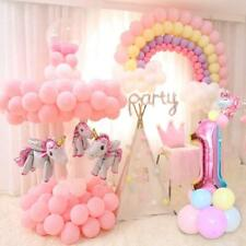 Unicorn Birthday Decorations Kids Unicorn Party Favors Supplies Balloons