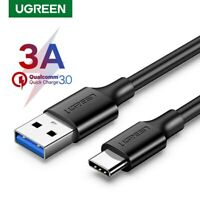 Ugreen Type C Cable USB 3.0 to USB C 3.1 Fast Charger Data Cable for Samsung S8