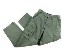Boy Scouts Boys Switchbacks Convertible Pants Green Youth Sz 14