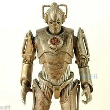Doctor Who Classic Action Figure Stamp Cyberman Rust Open Chest New