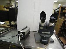AO Instr Microscope Mod 370 0.7 to 4.2X  W/stand & 10X WF Eyepieces, MK II Light