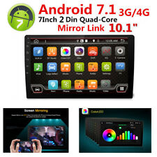 Android 7.1 Car GPS Stereo Radio Player 2-Din Ultra thin Wifi 3G/4G DAB No DVD