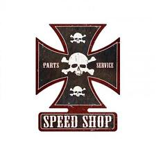 Speed Shop Hot Rod Metal Sign ManCave Garage Shop Club Unique Wall Decor ic006