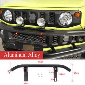 Kit For Suzuki Jimny 2019- 20 Alloy Front Grille Spotlight Bracket Support Mount