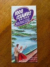 1000 islands Bridge - 1960s tourist brochure, W C Hartman Advertising