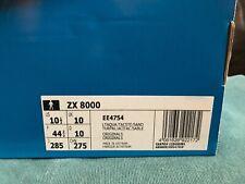 Adidas Consortium ZX 8000 Light Aqua UK size 10 trainer BRAND NEW IN BOX