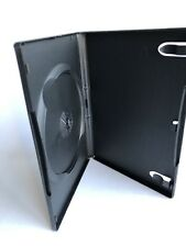 Set of 4 Empty NEW, Black DVD Cases w Wrap-Around Sleeve - Standard DVD