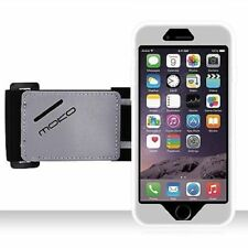 Apple iPhone 6 Plus Silicone Armband Case Key Holder Running Jogging Strap MOKO