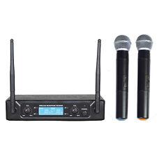 MONACOR ZZIPP SET DOPPIO RADIOMICROFONO UHF 677,70/696,10 TXZZ512