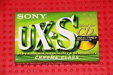 SONY  UX  S  90  VS.  VI  BLANK CASSETTE TAPE (1) (SEALED)
