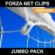 Football Net Clips - Pack of 40 White Football Goal Net Clips [Net World Sports]