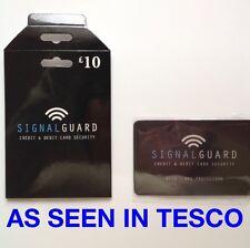 Señal protector Protector de tarjeta de crédito Sin Contacto RFID-lugar En Cartera Ver Video