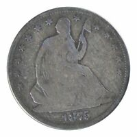 1875-S Seated Liberty Half Dollar Very Good
