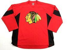 Men's Chicago Black Hawks Jonathan TOEWS NHL Hockey Practice Jersey Large L