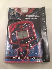 SPIDERMAN HANDHELD LCD GAME WITH FIGURE, 2002 MGA ENTERTAINMENT, NEW Rare
