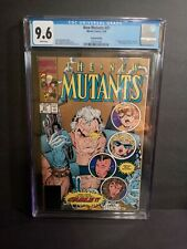 NEW MUTANTS 87 CGC 9.6 WHITE PAGES 2ND PRINT GOLD VARIANT 1ST CABLE