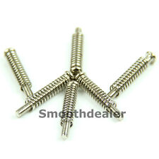 Guitar Pickup Mounting Pointed Head Screws w/ Springs High Quality 6pcs