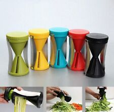 Spiral Slicer Peeler Shred Vegetable Fruit Process Cutter 2 PACK