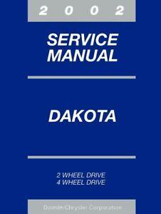 Service Repair Manuals For Dodge Dakota For Sale Ebay