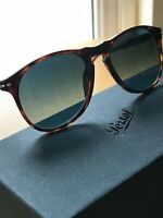 PERSOL PO 9649 52 LIMITED EDITION, POLARIZED. DARK HAVANA S3 Original Exclusive.