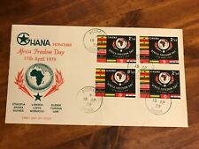 1959 Ghana Africa Freedom Day First Day Cover FDC