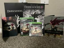Darksiders III Collector's Edition Items for Xbox One without Fury Statue