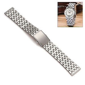 1PC Stainless Steel Bracelet Watch Strap Band 4 Types 18mm - 26mm