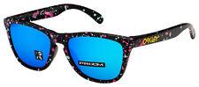 Oakley Frogskins Asia Fit Sunglasses OO9245-8054 Splatter Blk   Prizm Sapphire