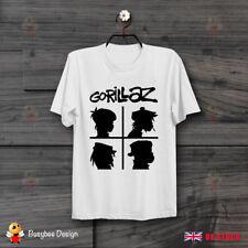 Gorillaz Demon Days Rock Band Art Ideal Gift Cool Unisex T Shirt B513