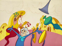 DR SEUSS CHUCK JONES HORTON HEARS A WHO KEY SETUP ORIGINAL PRODUCTION CEL BG