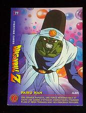 DRAGON BALL Z GT DBZ FIGHTING CARD CARDDASS NOT PRISM CARTE 77 JAPAN 1999 PANINI