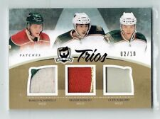10-11 UD The Cup Trios  Marco Scandella--Maxim Noreau--Cody Almond  /10  Patches