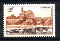 FRANCE  1955 LIMOGE  YT n° 1019   neuf ★★ luxe / MNH