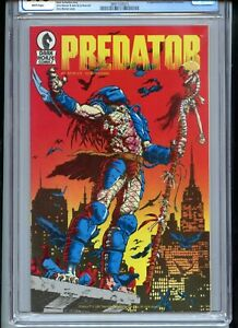 Predator #1 CGC 9.6 White Pages Second Printing 1989