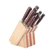 B-Ware: Dr. Richter 9-tlg. Set edle Küchenmesser Messerset, Messerblock bestückt