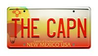 Breaking Bad | Jesse Pinkman Monte Carlo | THE CAPN | Stamped Prop License Plate