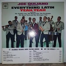 Joe Quijano-Rare 1St.Press-WLP-PROMO-LATIN YEAH,YEAH(WLP-LP)BARELY PLAYED COPY!